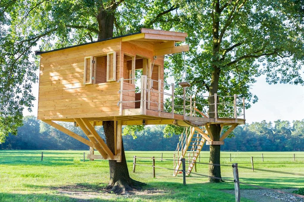 TREE HOUSE - ROMANTIKA V KORUNÁCH STROMŮ